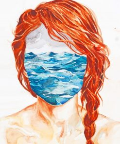 Sea Face Art paint by numbers