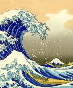 The Great Wave Off Kanagawa Paint by numbers