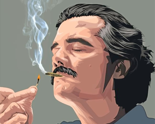 The Legend Pablo Escobar paint by numbers