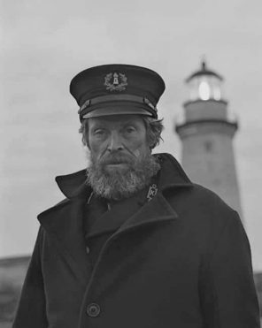 Willem Dafoe The Lighthouse Paint by numbers