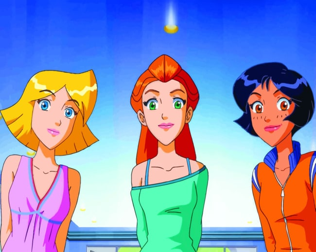 Totally Spies Girls paint by numbers