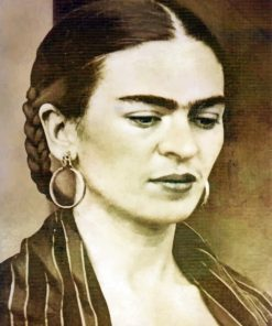Vintage Frida Kahlo Paint by numbers