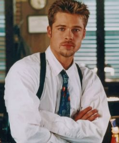 Vintage Brad Pitt Paint by numbers