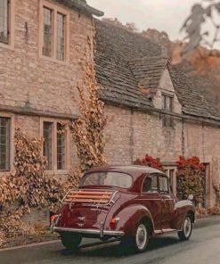 Vintage Car Paint by numbers