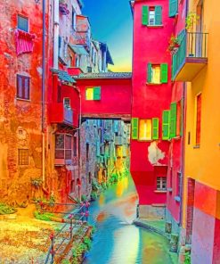 Bologna Italy Paint by numbers
