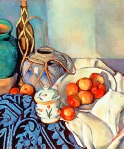 Cezanne Apples Still Life Paint by numbers