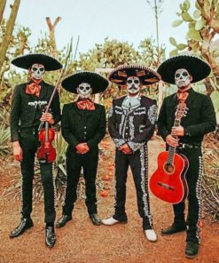 Day Of The Dead Squad paint by numbers