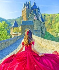 Eltz Castle Germany Paint by numbers