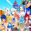 Fairy Tail Anime Paint by numbers