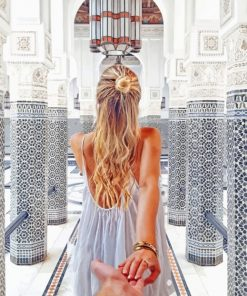 Follow me To Marrakesh Morocco Paint by numbers