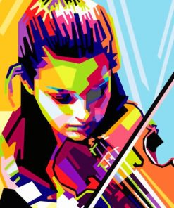 Janine Jansen paint by numbers