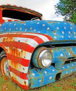 Old Truck Paint by numbers