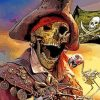 Pirate Skull Paint by numbers