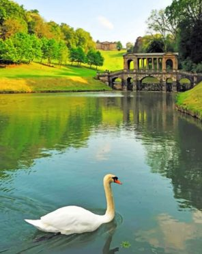 Prior Park Garden paint by numbers