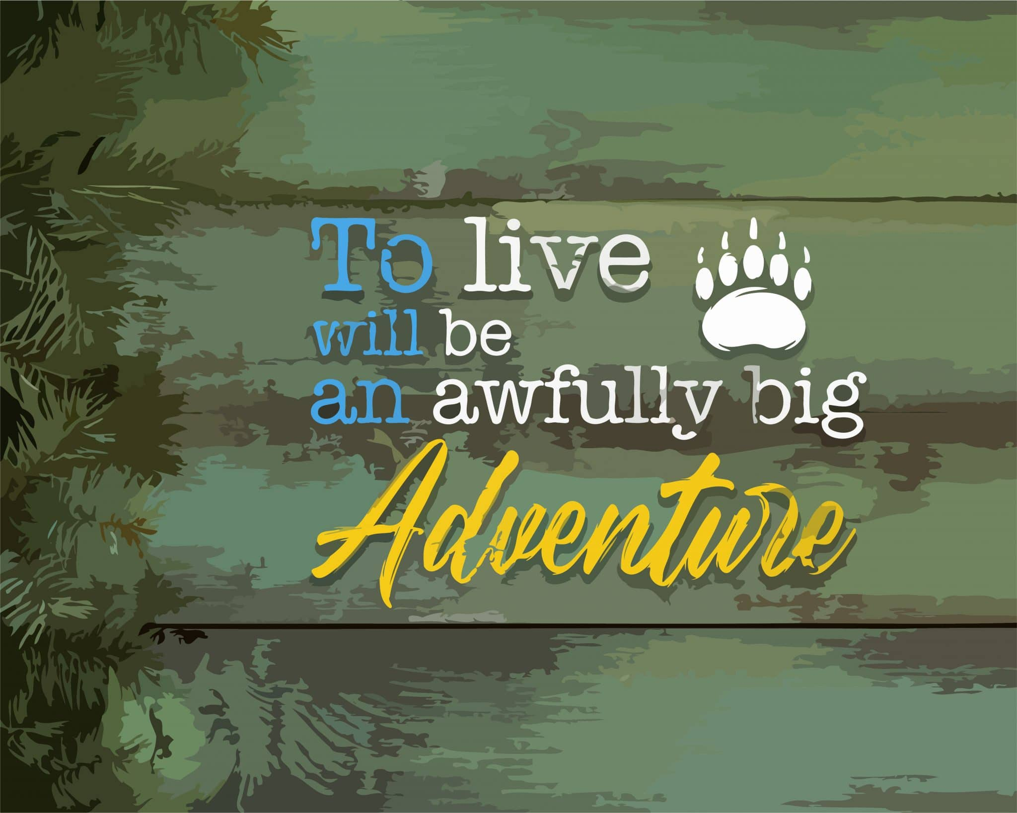 Life Adventure paint by numbers