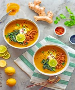 Tasty Soup Paint by numbers