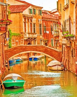 Venice Italy Paint by numbers