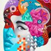Abstract Woman Paint by numbers