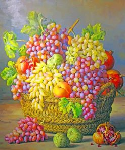 Aesthetic Fruits Still Life Paint by numbers