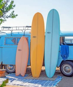 Aesthetic Surfboards paint by numbers