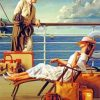 Aesthetic Vintage Couple paint by numbers
