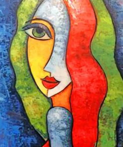 Aesthetic Woman Art paint by numbers