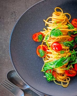 Delicious Pasta Paint by numbers