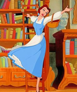 Belle Dancing Paint by numbers