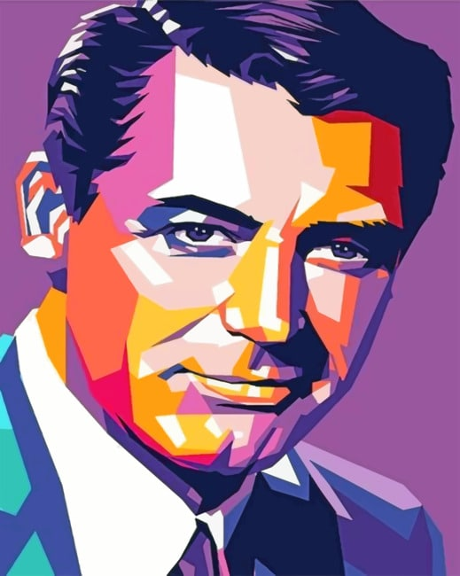 Cary Grant Paint by numbers