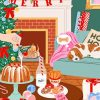 Christmas Vibes Paint by numbers