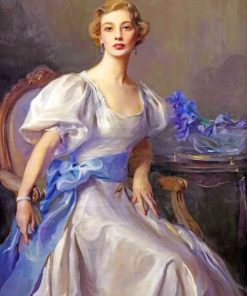 Classy Woman Paint by numbers