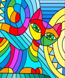 Pop Art paint by numbers