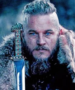 Cool Ragnar Paint by numbers