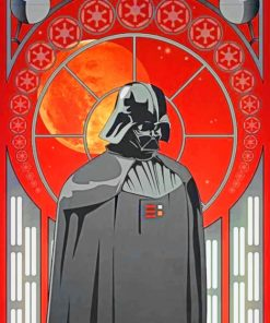 Death Vader paint by numbers