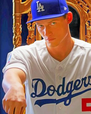 Dodgers Paint by numbers