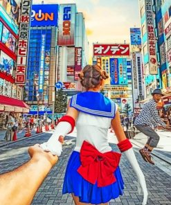 Follow Me To Japan Paint by numbers