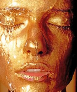 Gold Girl paint by numbers