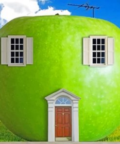 Green Apple paint by numbers