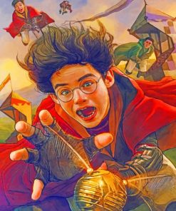 Harry Potter Paint by numbers