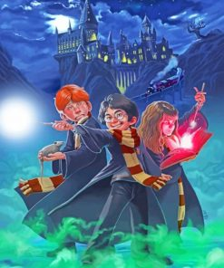 Harry Potter Squad Paint by numbers