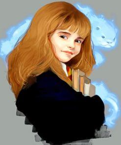 Hermione Granger Paint by numbers