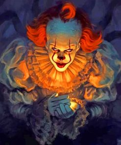 It Movie paint by numbers