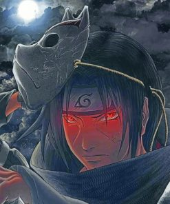 Itachi Paint by numbers