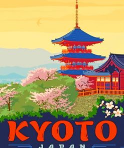 Kyoto Japan Paint by numbers