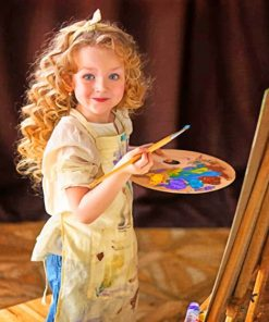 Little Artist Paint by numbers