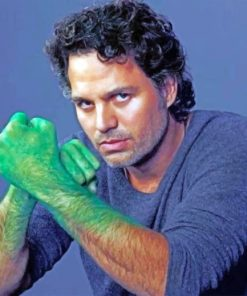 Mark Ruffalo paint by numbers