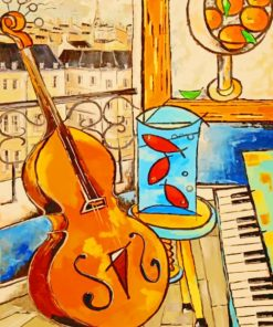 Music Instruments Paint by numbers