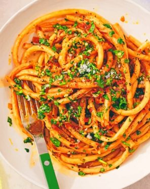 Pasta Paint by numbers