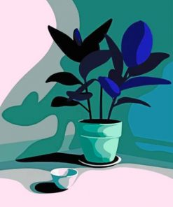 Plant Paint by numbers