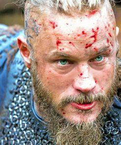 Ragnar Vikings Paint by numbers